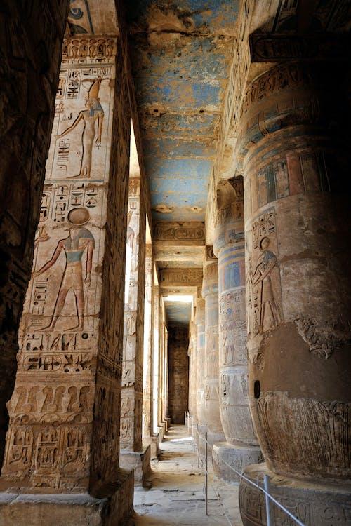 エジプト, コラム, 古代, 寺の無料の写真素材