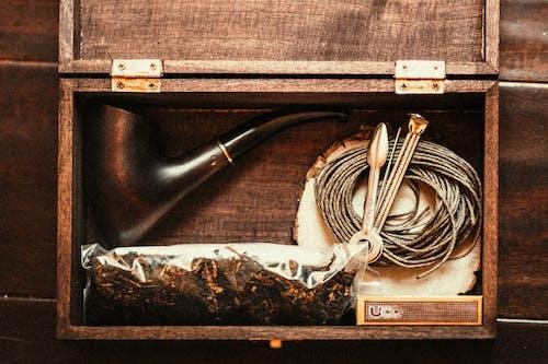 Foto profissional grátis de caixas de madeira, coleção retrô, coleção vintage, de madeira