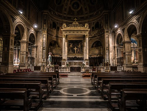 Kostenloses Stock Foto zu altar, architektur, bank, basilika