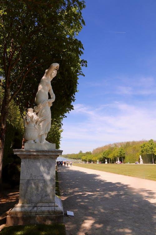 Imagine de stoc gratuită din cer albastru, parc, statuie