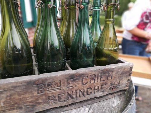 Free stock photo of beer, beer bottle, bottle, wood