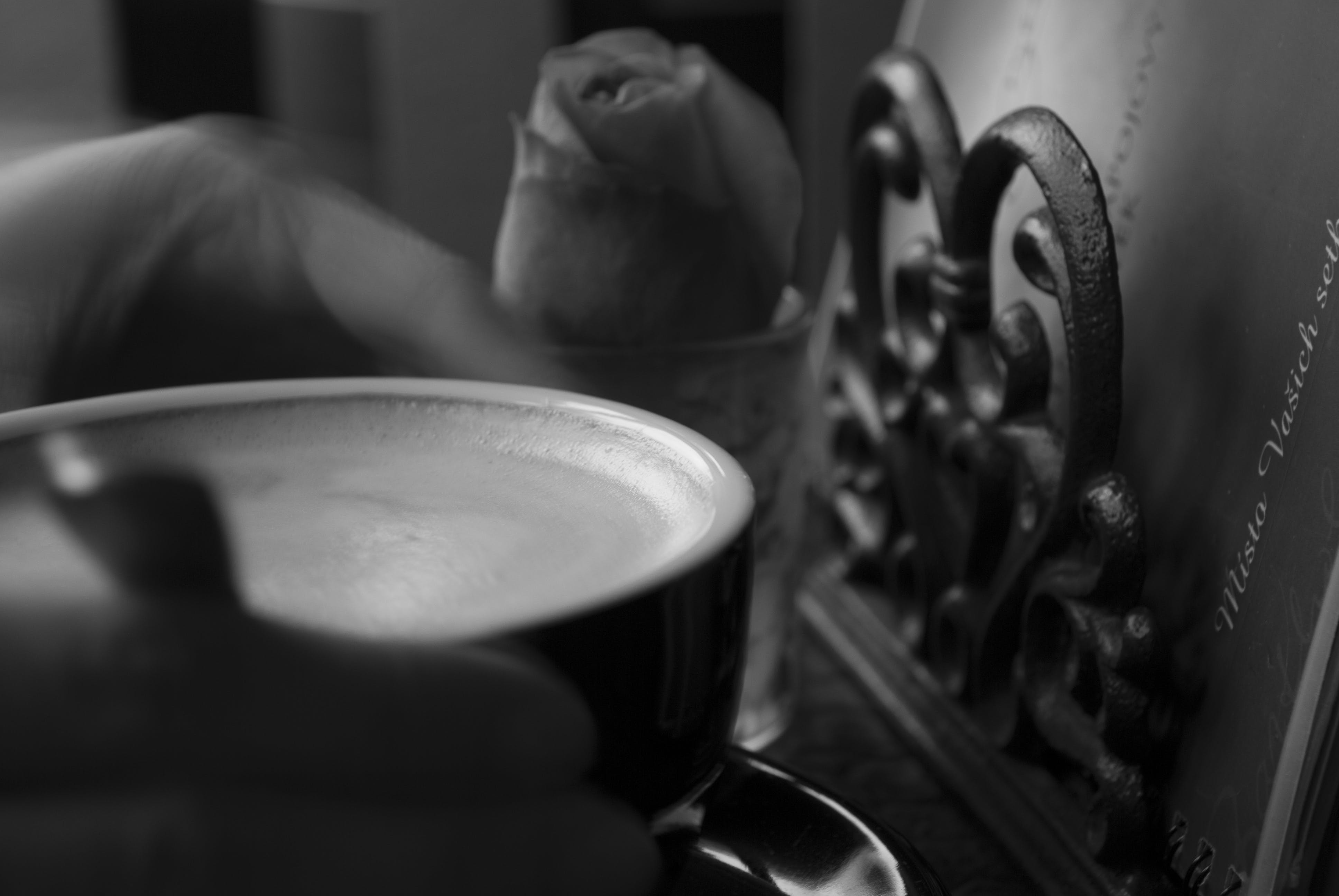 Free stock photo of restaurant, coffee, hand, table