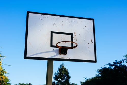 バスケットボールフープ, バスケットボールリング, バックボードの無料の写真素材