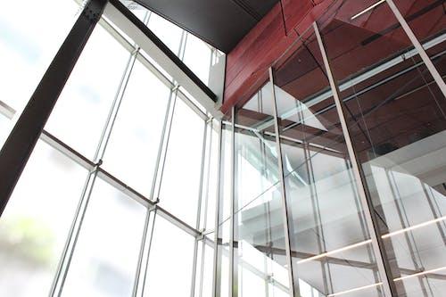 bakış açısı, bardak, bina, cam eşyalar içeren Ücretsiz stok fotoğraf