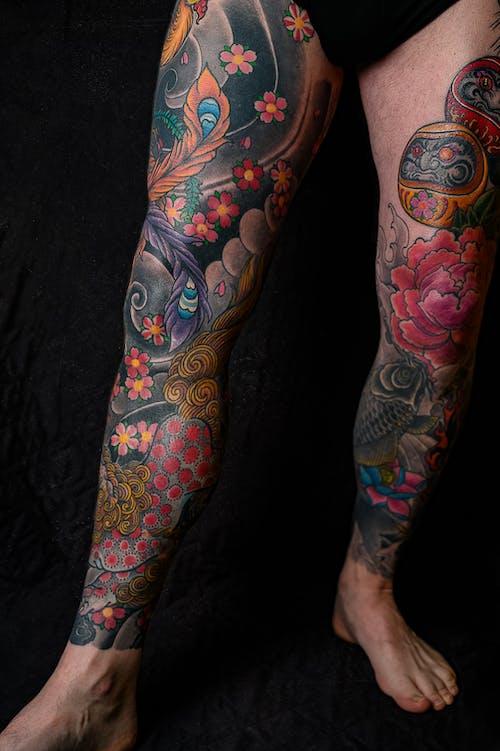 Бесплатное стоковое фото с Искусство, мужчина, татуировки, тело