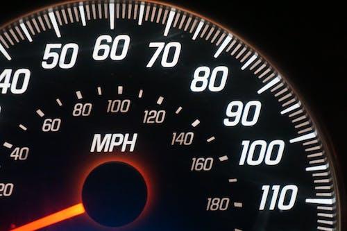 Kostenloses Stock Foto zu auto-tachometer