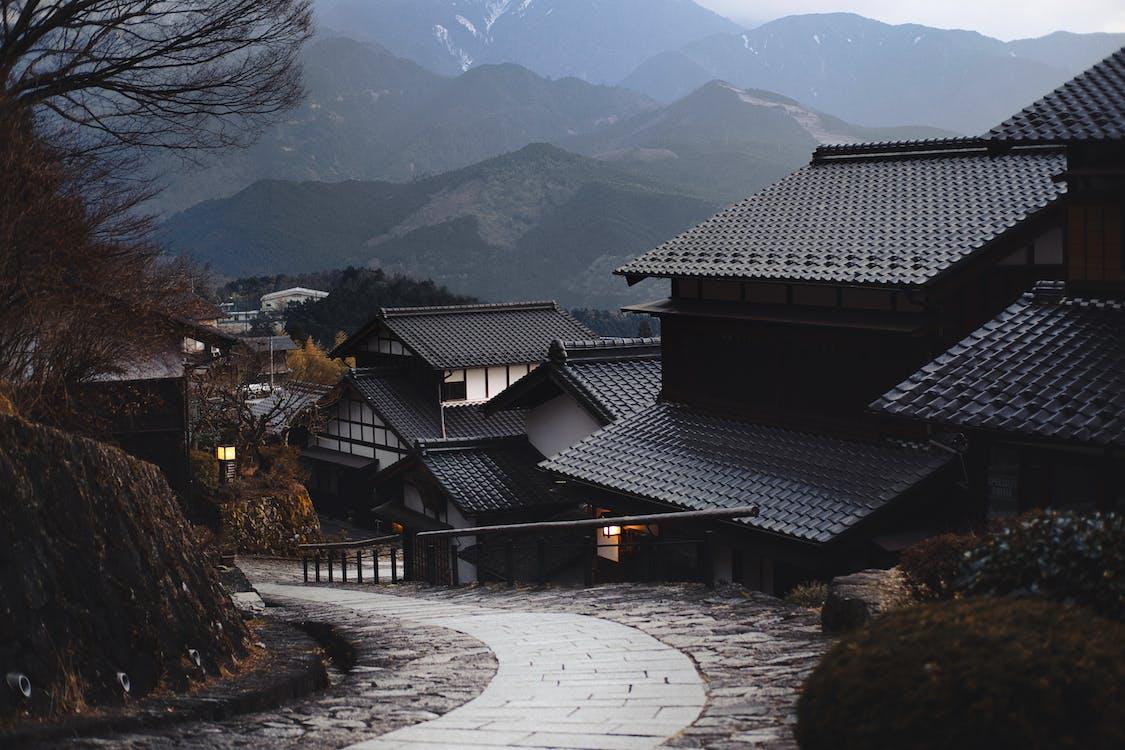 építészet, épületek, falu