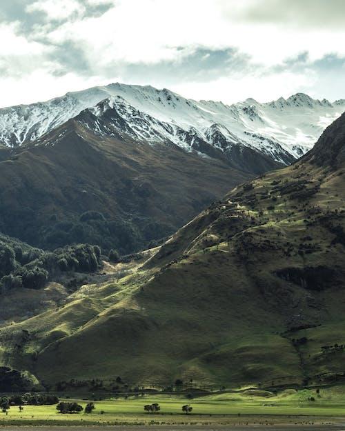 山, 絶景, 自然, 雪の無料の写真素材