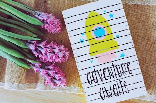 Ilmainen kuvapankkikuva tunnisteilla kanvaasi, kasvikunta, kortti, kukat