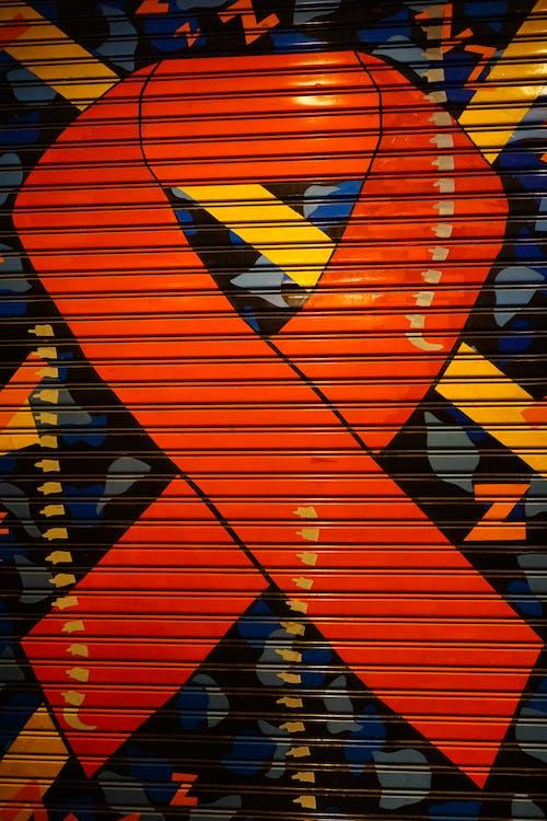 Ingyenes stockfotó aids, alkotás, csíkok, falfirka témában