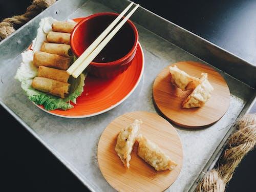 Foto d'estoc gratuïta de àpat, crestes xineses, dinar, fotografia d'aliments
