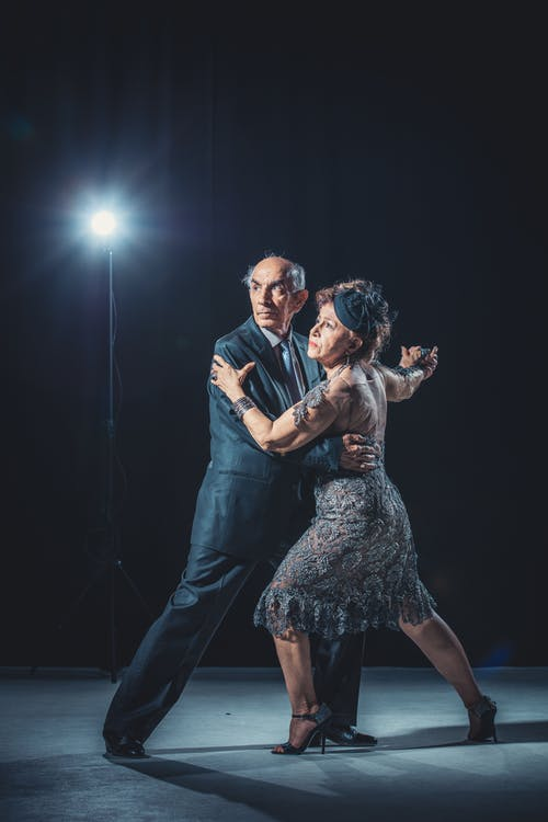 Free stock photo of #tango #stage #scene #dance #golden #age