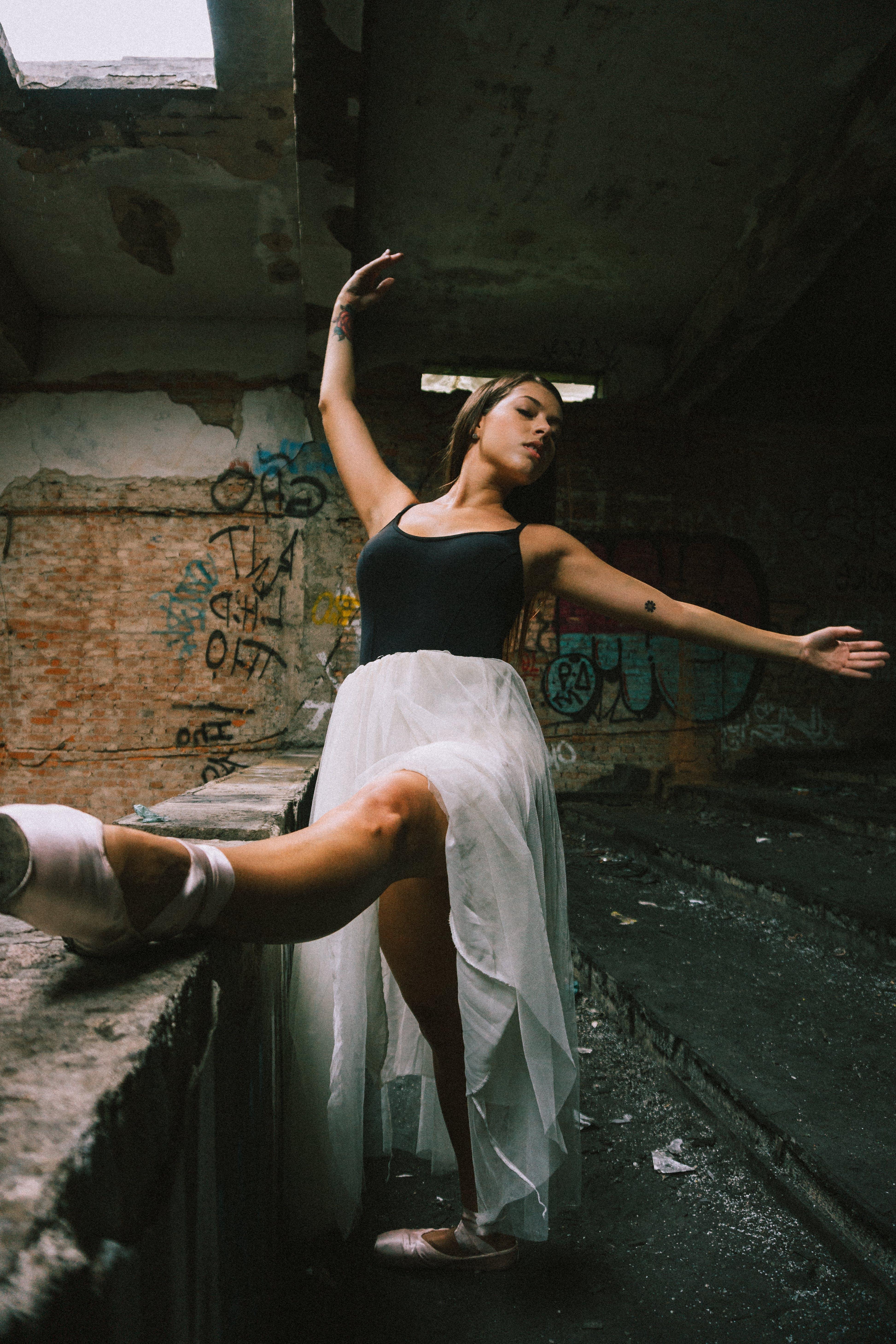 Základová fotografie zdarma na téma akce, aktivní, bailarina, balet