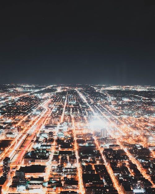 Gratis arkivbilde med by, bybilde, kveld, natt