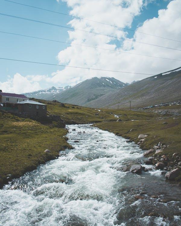 dolina, góra, krajobraz