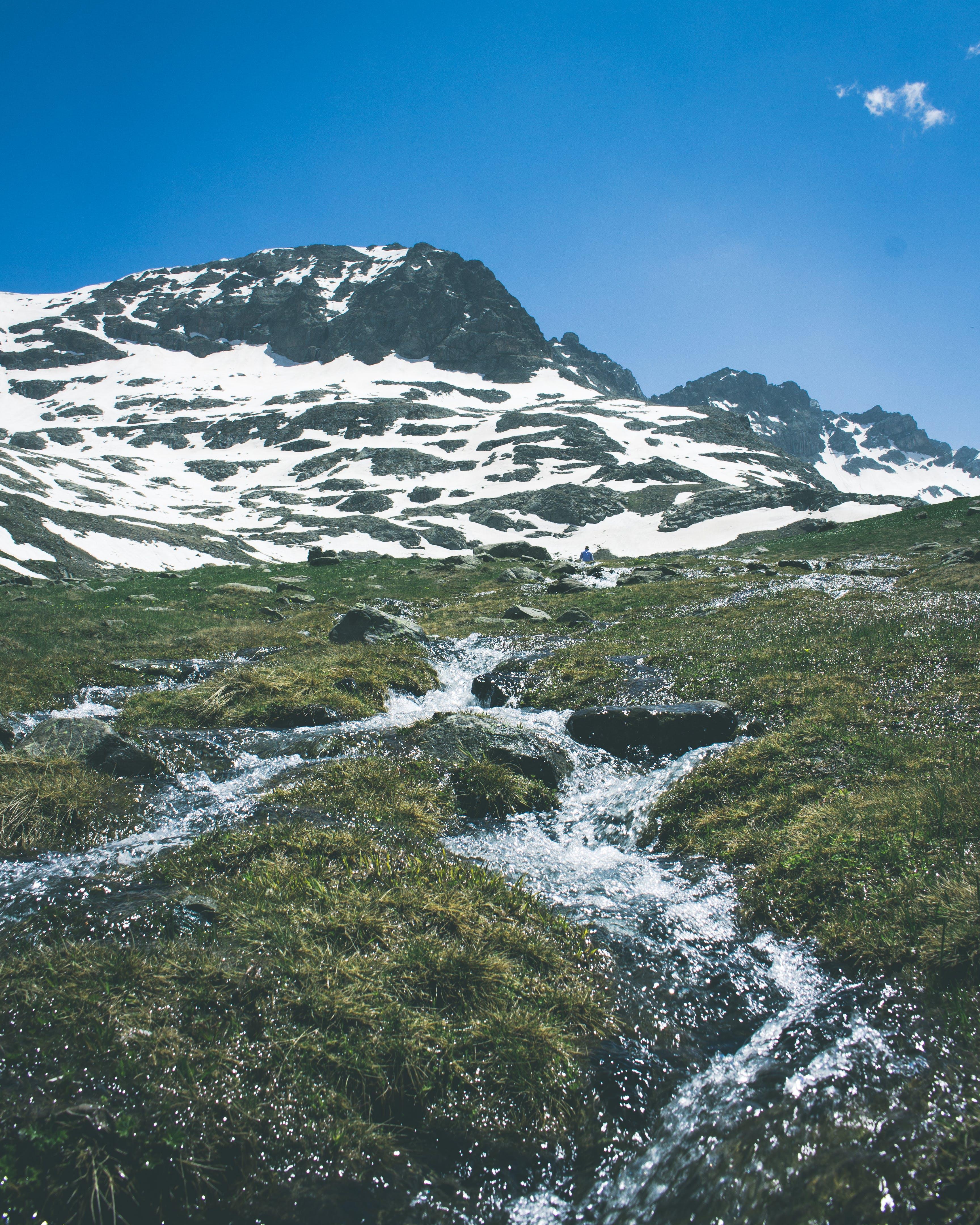 Gratis stockfoto met altitude, berg, bergtop, besneeuwd