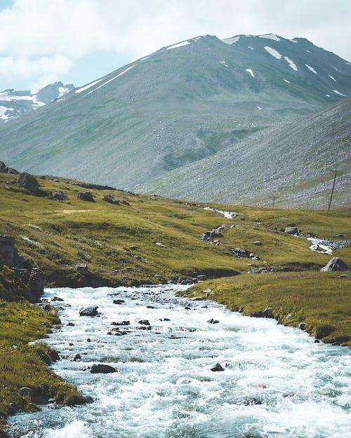 Immagine gratuita di ambiente, esterno, fiume, montagna