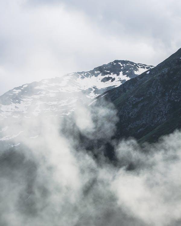 bjerg, høj, landskab