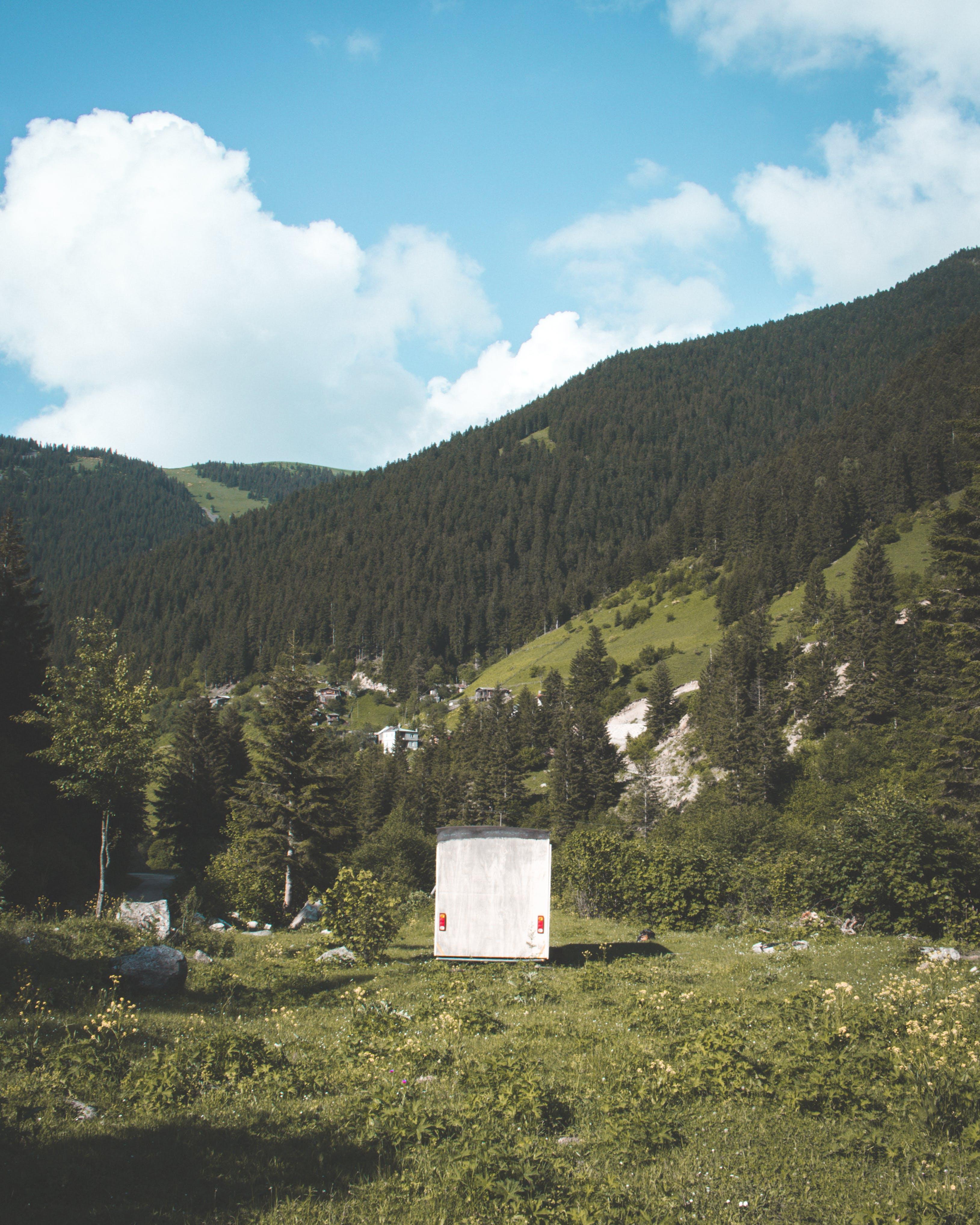 Foto stok gratis alam, Arsitektur, awan, batu