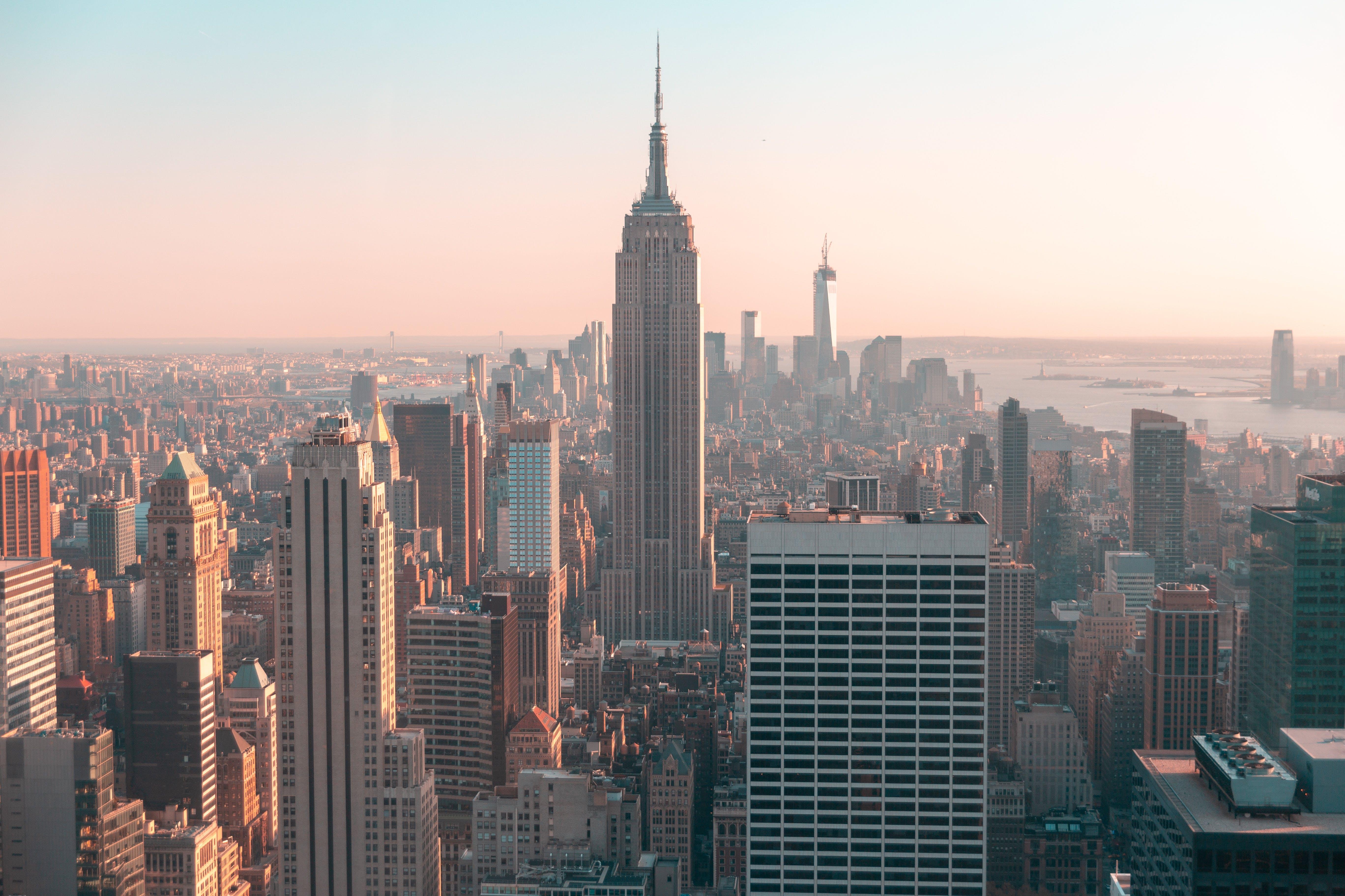 Kostenloses Stock Foto zu architektur, empire state building, gebäude, hochhäuser