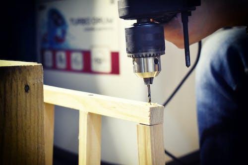 Foto d'estoc gratuïta de artesania, eina elèctrica, feina, fusta