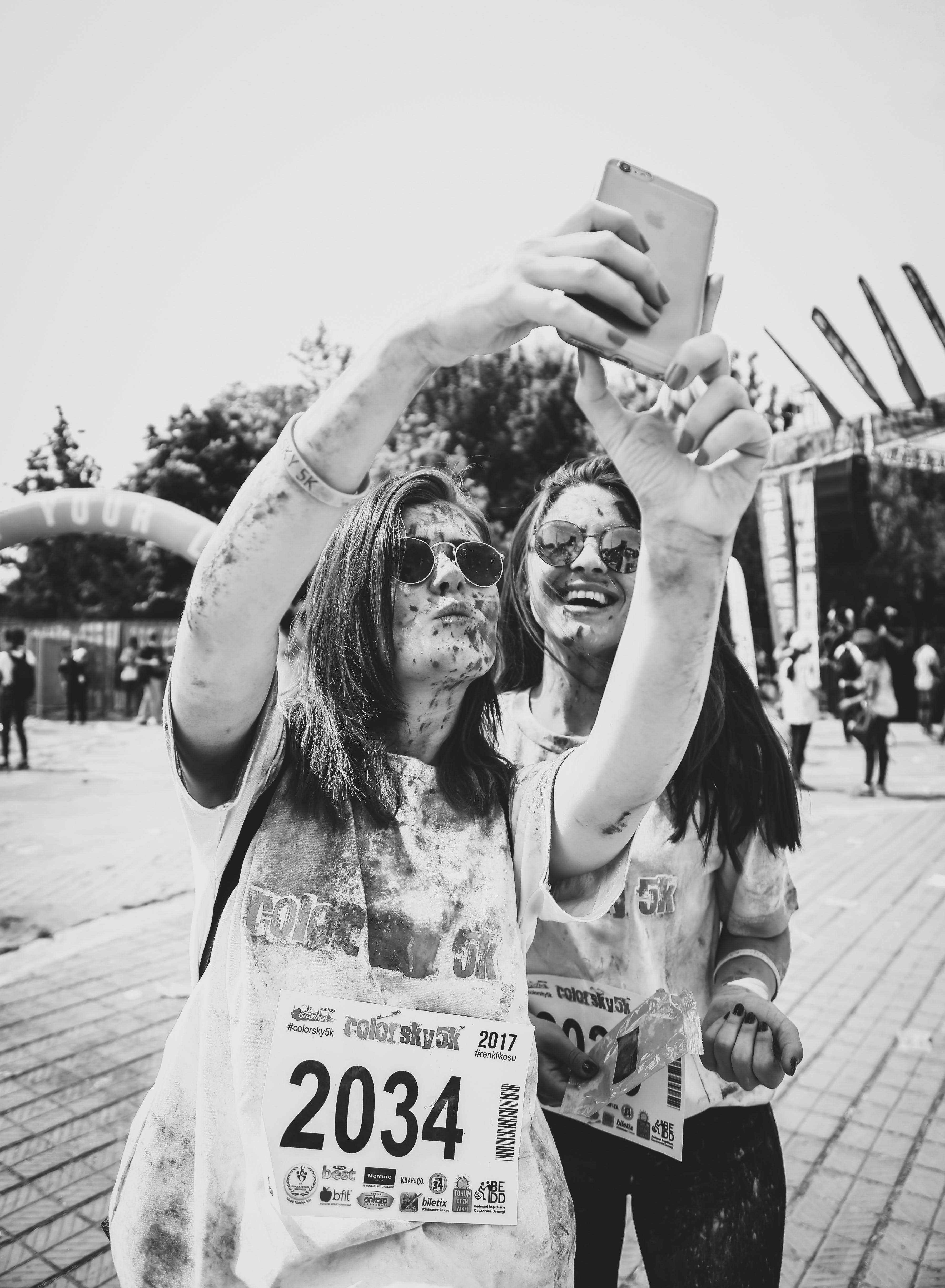 Δωρεάν στοκ φωτογραφιών με αγώνας δρόμου, αναψυχή, Άνθρωποι, ασπρόμαυρο