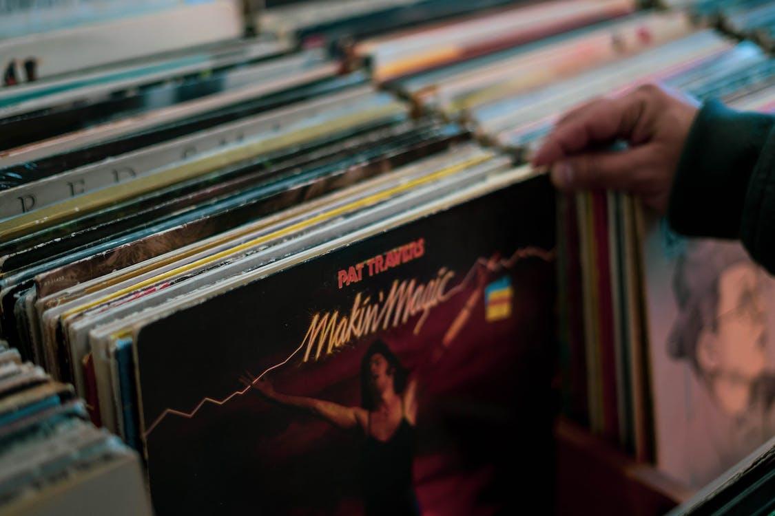 人, 古董, 唱片