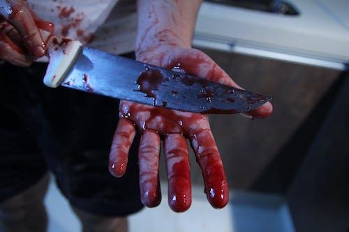 Ảnh lưu trữ miễn phí về dao, dính máu, máu
