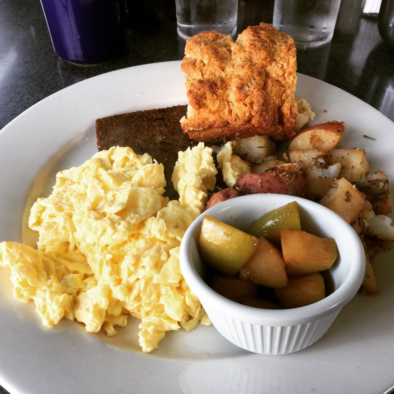 eier, frühstück, rührei