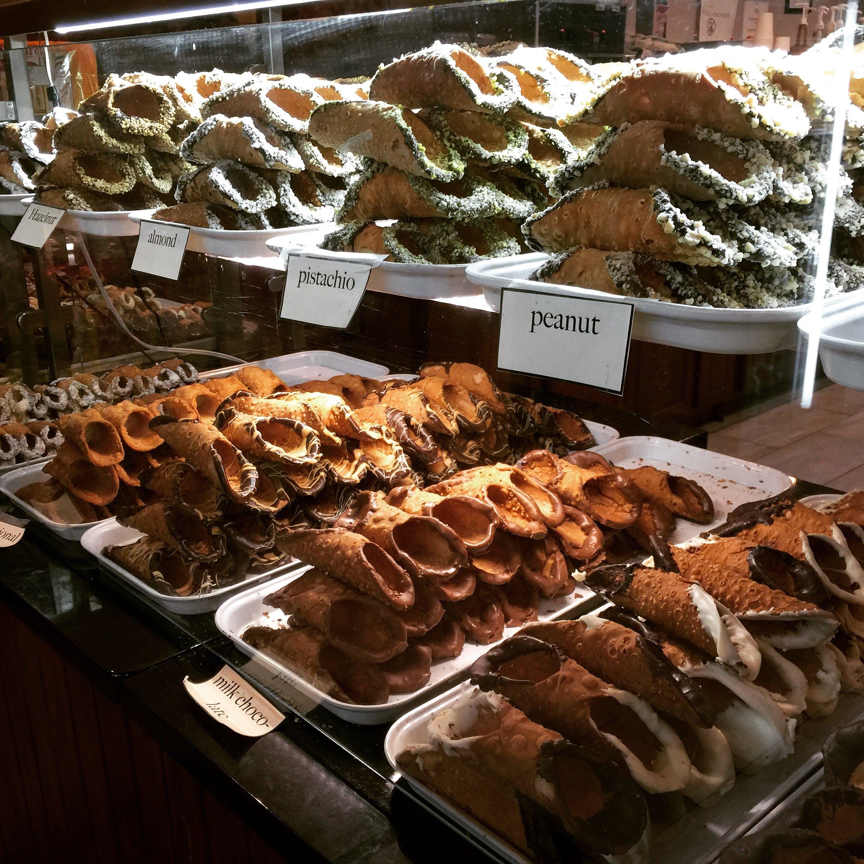 Kostenloses Stock Foto zu cannoli, dessert, gebäck, italienisch