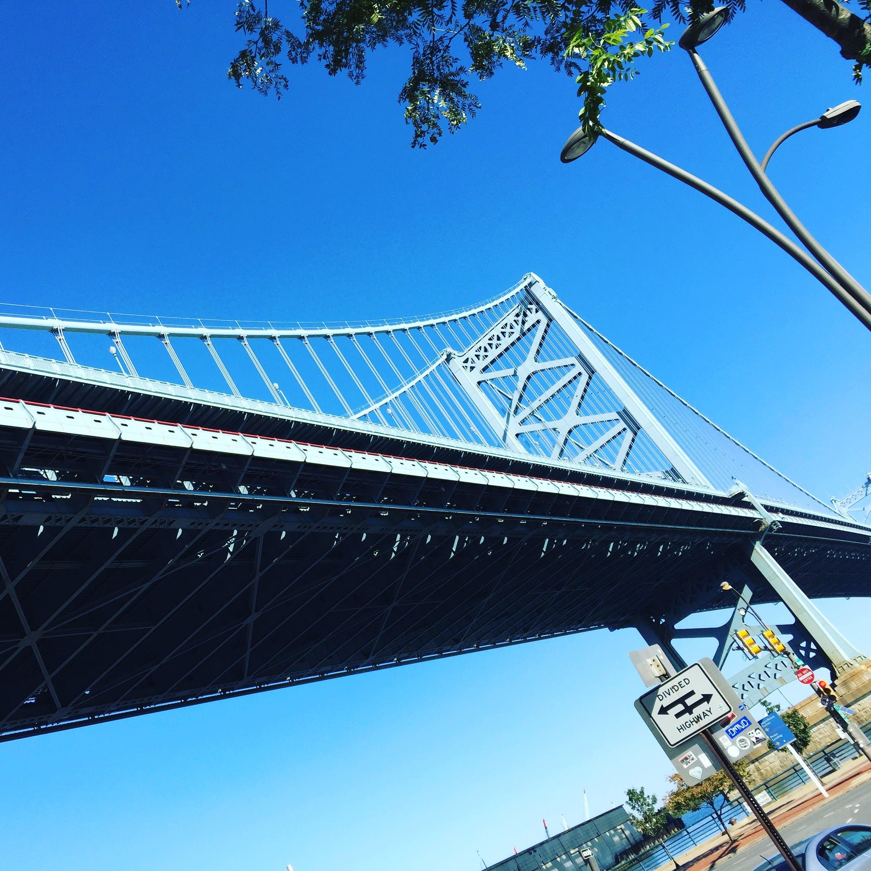 Free stock photo of bridge, Philadelphia, sky