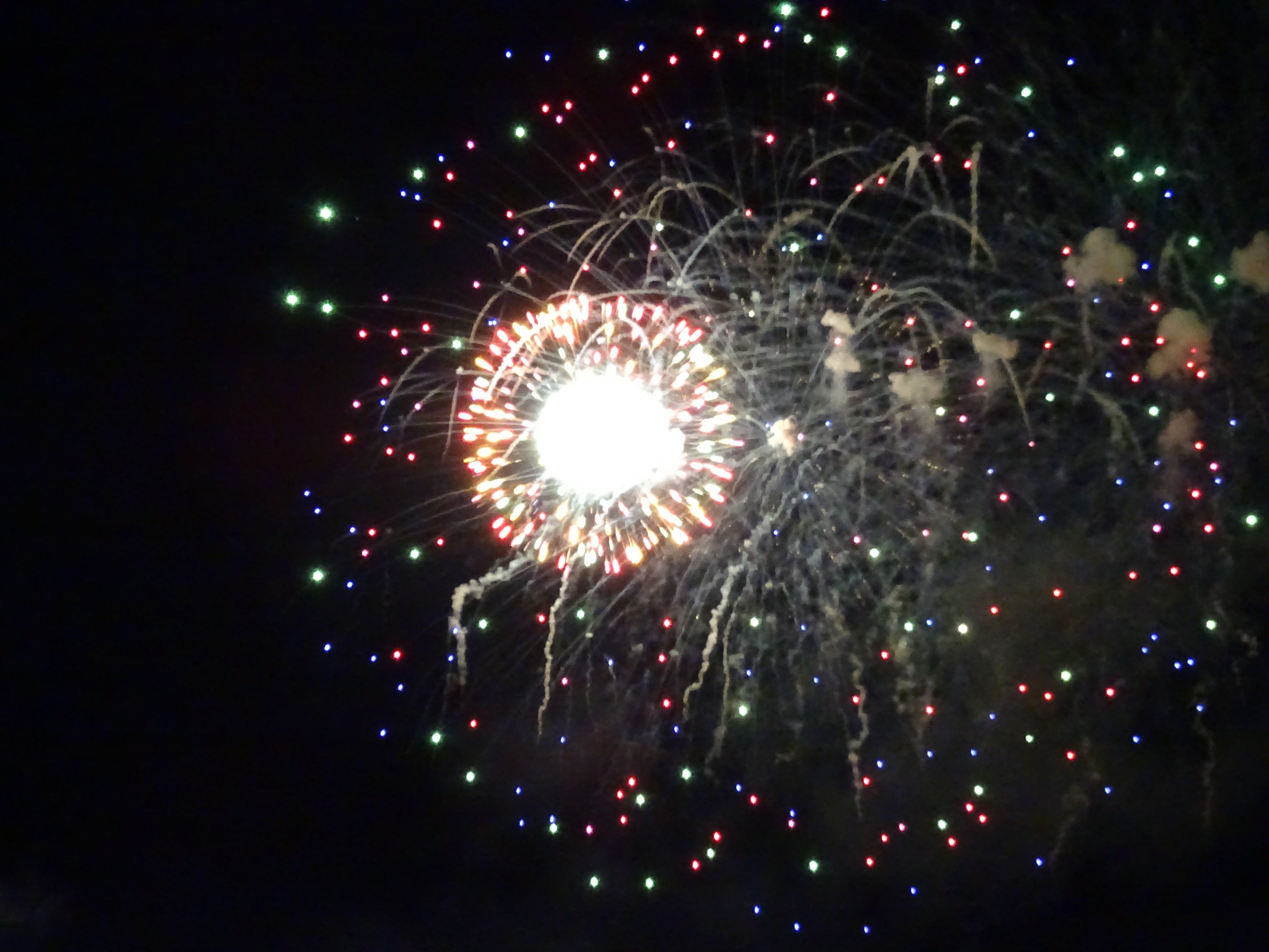 Free stock photo of sky, lights, night, fireworks