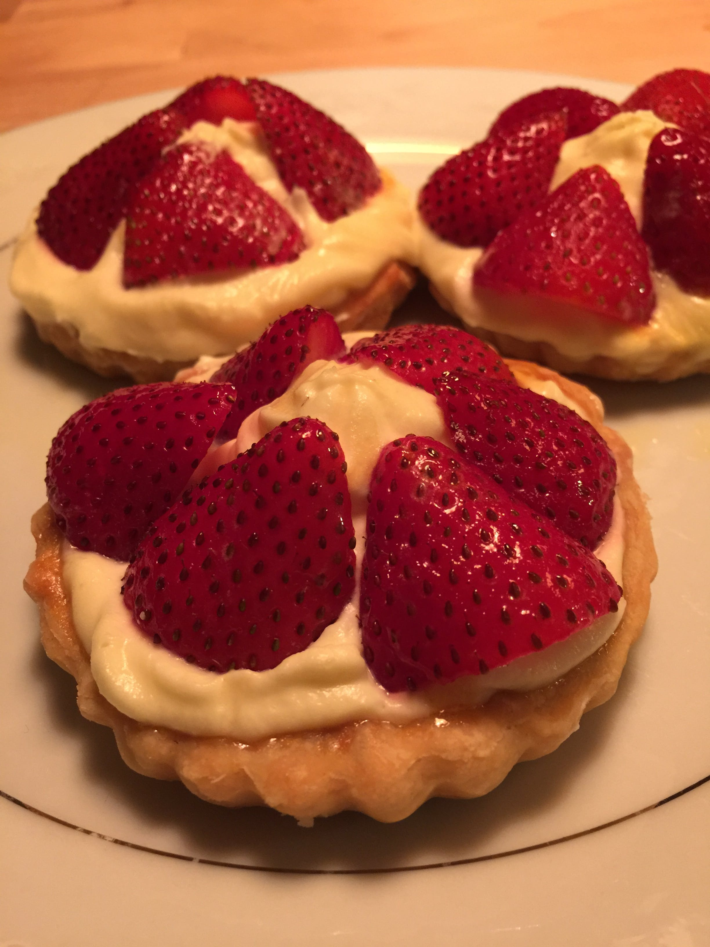 Free stock photo of dessert, strawberries, pastry, tarts