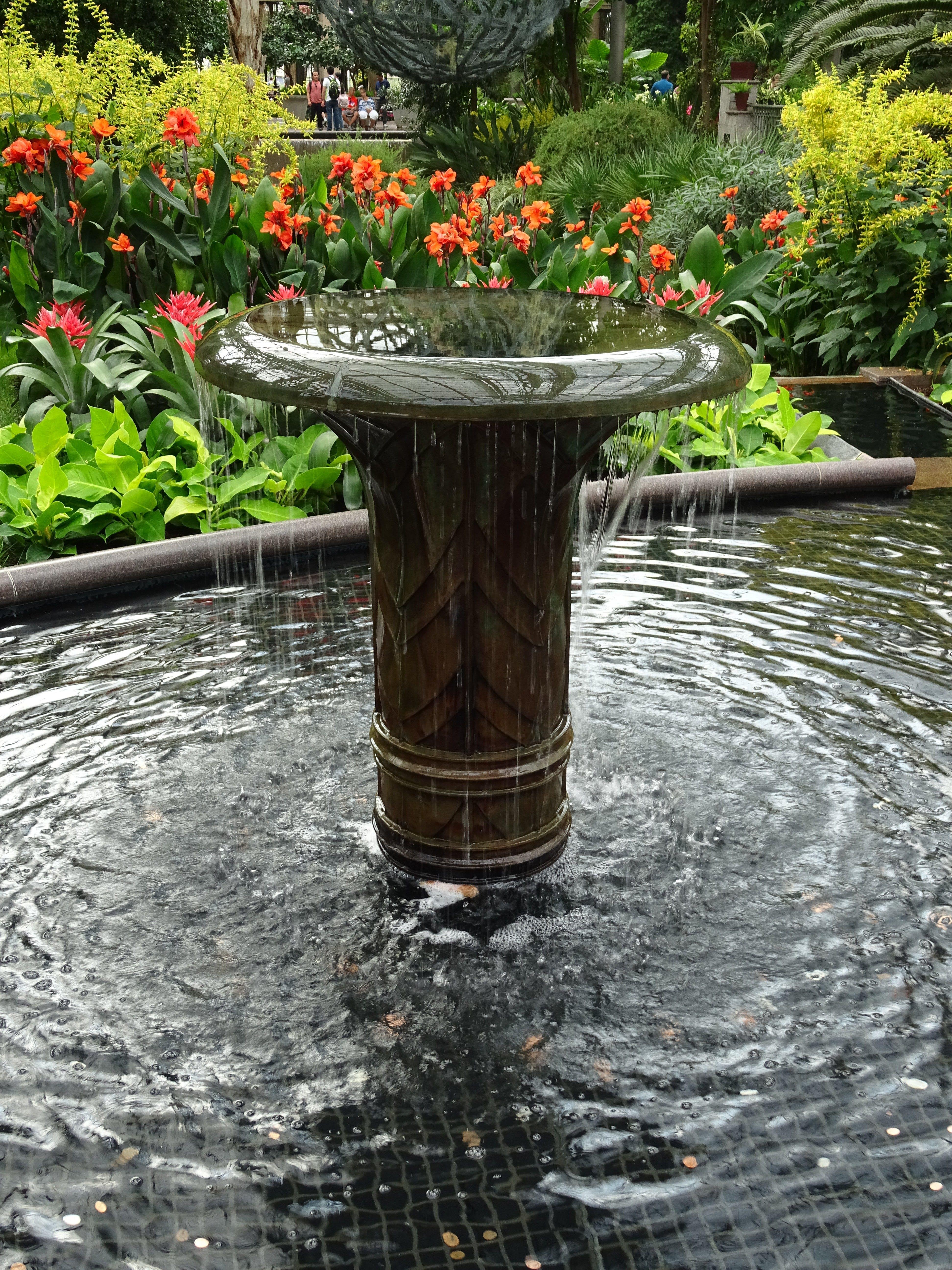 Free stock photo of fountain, garden, park, water