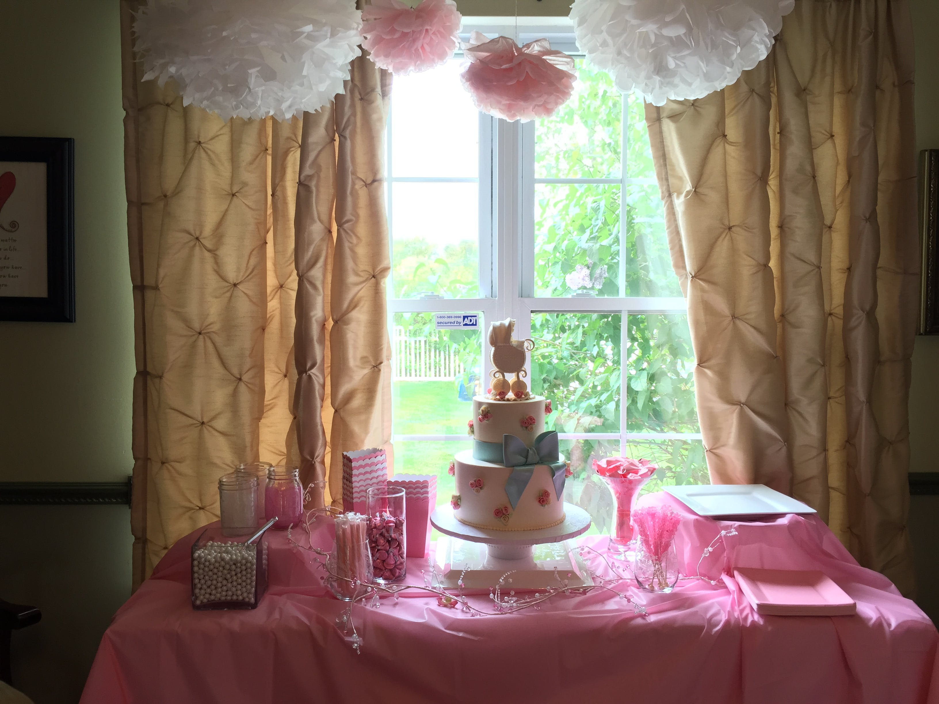 Free stock photo of baby girl, baby shower, cake, party