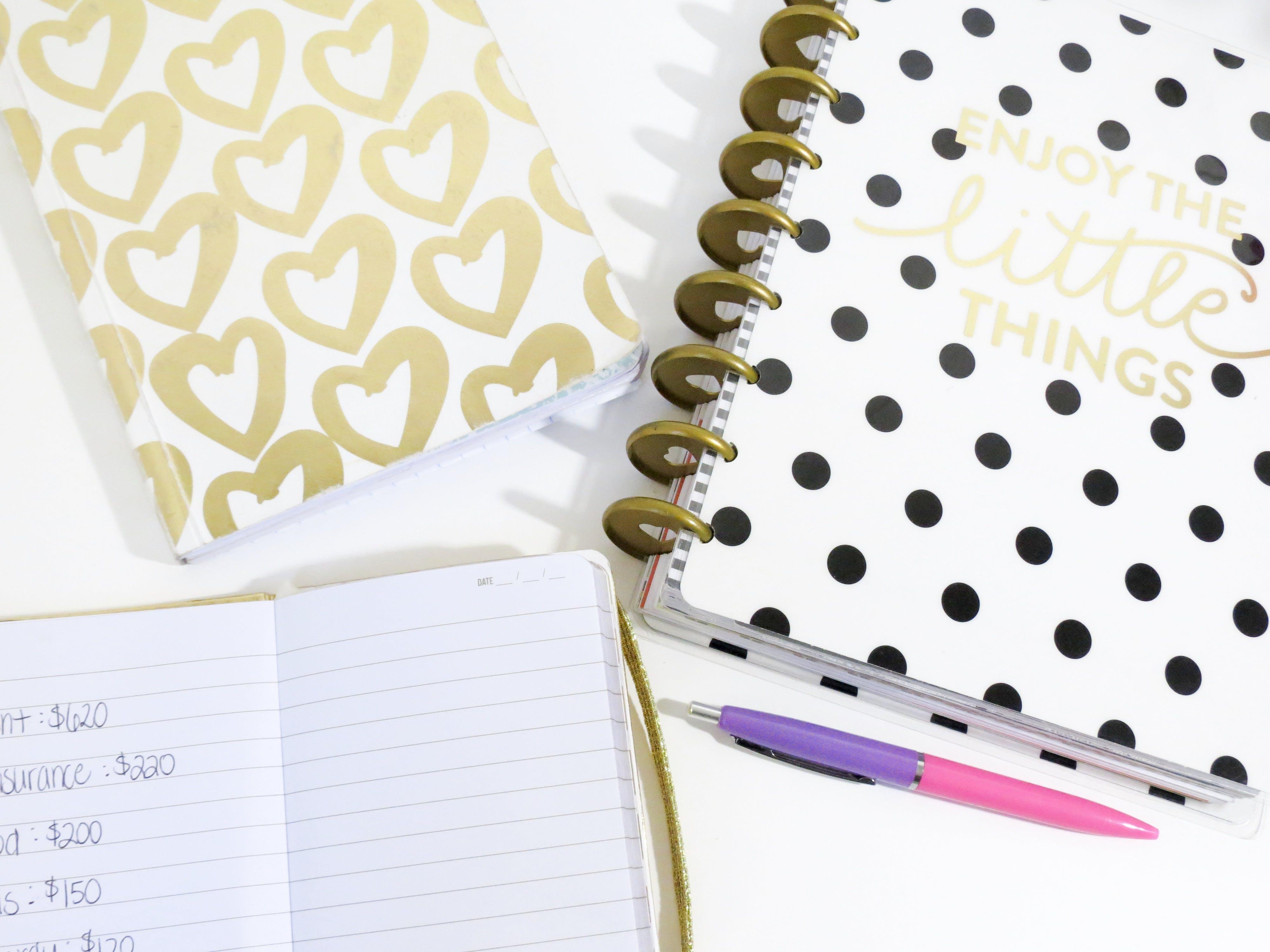 ark, blok, dagbog