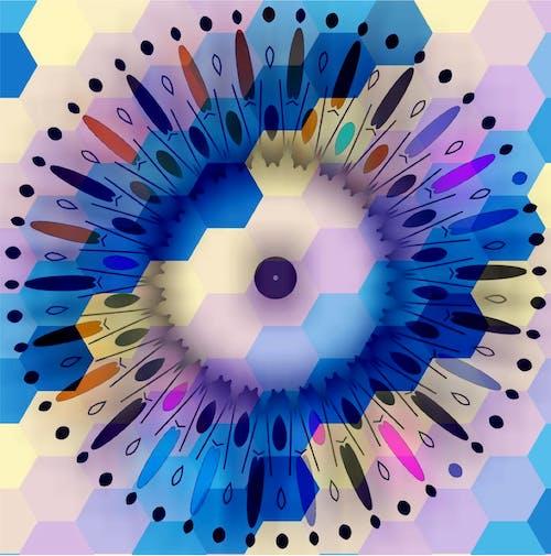 Free stock photo of art, artwork, geometric, pattern