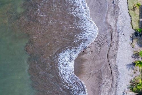 Δωρεάν στοκ φωτογραφιών με drone cam, ακτή, άμμος, γαλαζοπράσινος