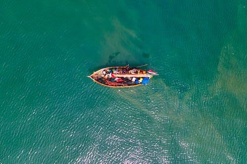 Immagine gratuita di acqua, aereo, azione, barca