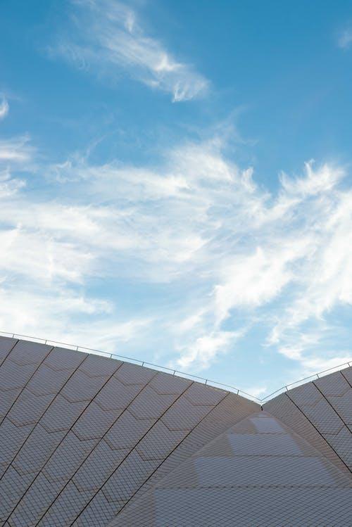 天空, 對比, 建築設計, 極簡主義 的 免费素材照片