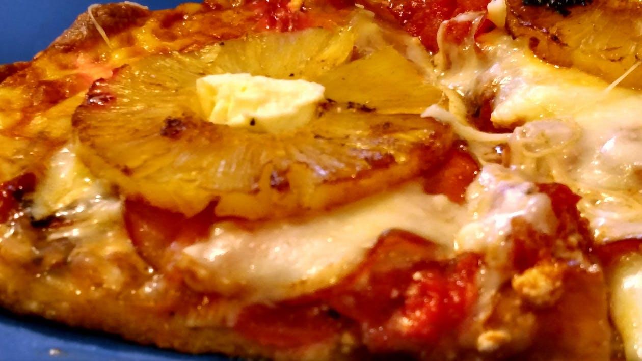 ananas, italiaans eten, pizza