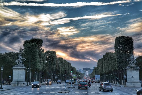 Ingyenes stockfotó champs-élysées, Párizs témában