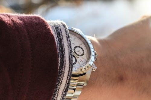 Free stock photo of jared nanasy, steel bracelet watch, watches, wristwatch