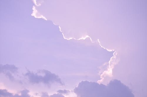 Základová fotografie zdarma na téma modrá obloha, obloha, zamračená obloha