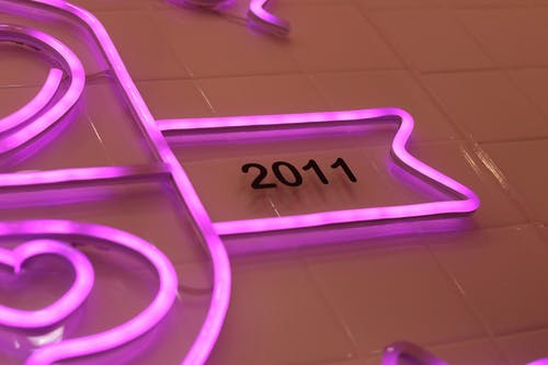 Free stock photo of 2011, light, pink light, wall