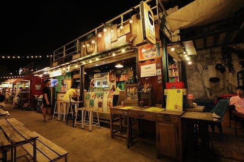 Free stock photo of coffee drink, coffee shop, light, market