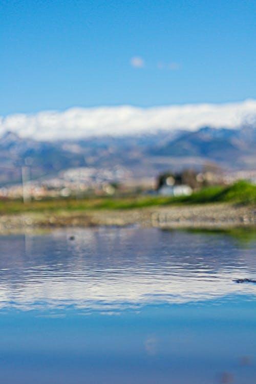 Foto profissional grátis de água, azul, congelado, montanhas