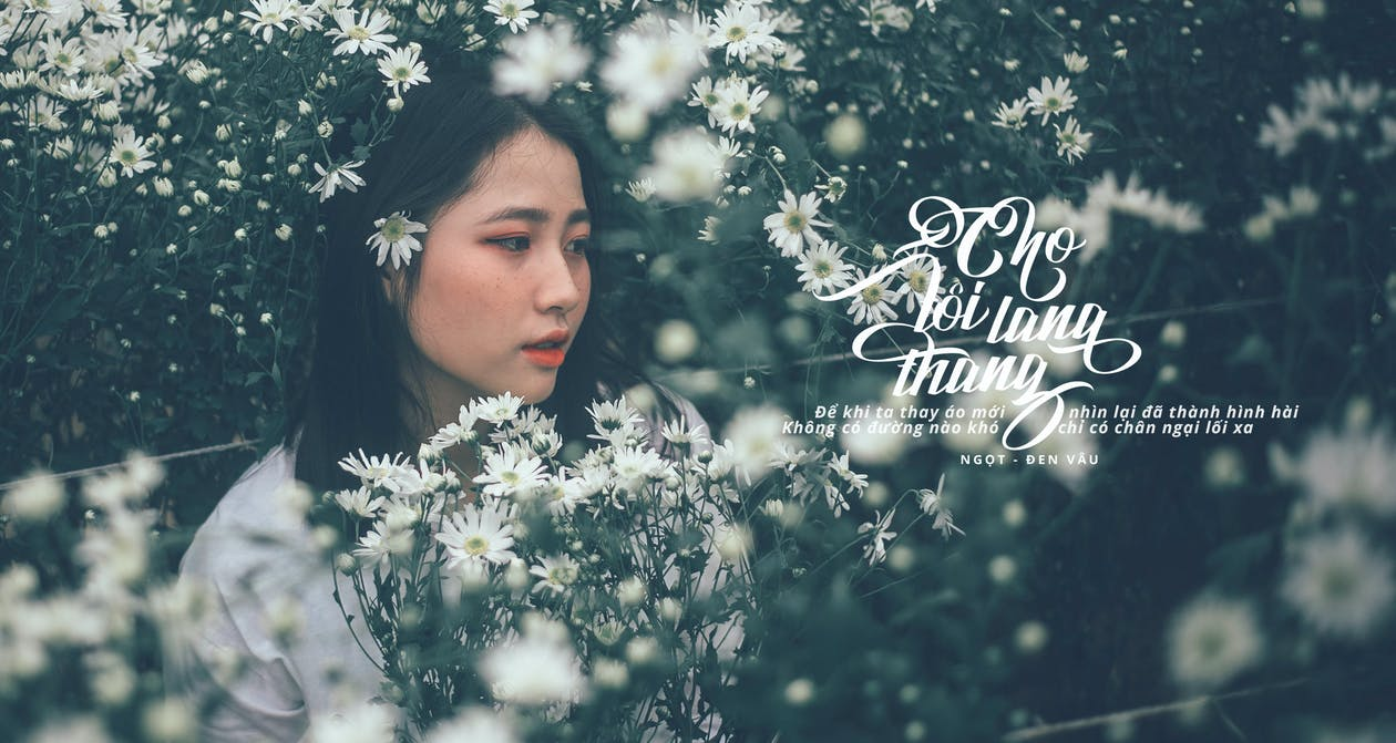 꽃, 아름다운 여성, 아름다운 여자