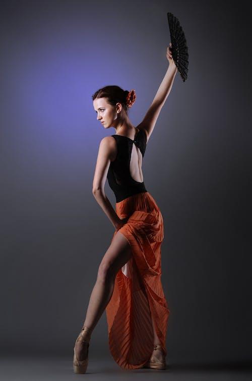 Kostenloses Stock Foto zu balance, balletttänzer, frau, hübsch