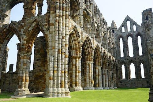 Gratis arkivbilde med bygning, kirke, kristen kloster, nord yorkshire